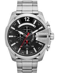 DIESEL - Diesel 'mega Chief' Bracelet Watch - Lyst