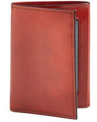 Bosca - 'old Leather' Trifold Wallet - - Lyst