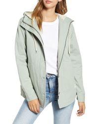 Rip Curl - Gabby Fleece Lined Hooded Jacket - Lyst
