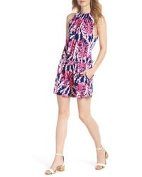 Lilly Pulitzer - Lilly Pulitzer Gianni Romper - Lyst