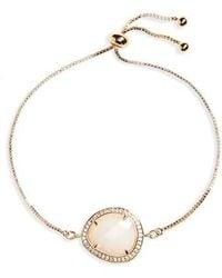 Melanie Auld - Caspian Moonstone Bracelet - Lyst