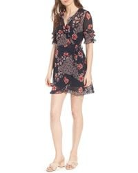 The Fifth Label - East Floral Wrap Dress - Lyst