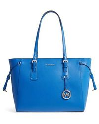 Michael Kors | Michael Voyager Leather Tote | Lyst