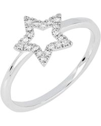 CARRIERE JEWELRY - Carriere Open Star Diamond Ring (nordstrom Exclusive) - Lyst
