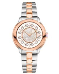 Fendi - Ishine Rotating Semiprecious Stone Bracelet Watch - Lyst