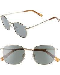 Le Specs - Neptune 49mm Sunglasses - Bright Gold - Lyst