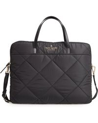 Kate Spade - Quilted Nylon Universal Laptop Commuter Bag - Lyst
