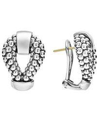 Lagos | Derby Caviar Stud Earrings | Lyst