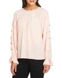 1.STATE - Tiered Sleeve Top - Lyst