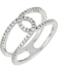CARRIERE JEWELRY - Carriere Interlocking Diamond Ring (nordstrom Exclusive) - Lyst