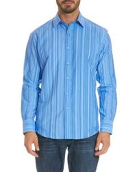 Robert Graham - Lopez Classic Fit Stripe Sport Shirt - Lyst