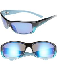 9473de1aa4e Maui Jim 'waterways - Polarizedplus2' 58mm Sunglasses - Olive Stripe in  Green for Men - Lyst