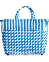 Truss - Small Woven Tote - - Lyst
