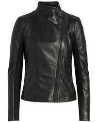 Trouvé - Leather Moto Jacket - Lyst