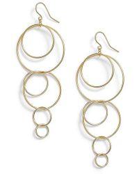 Gorjana - Wilshire Multi Loop Drop Earrings - Lyst