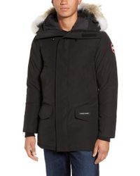 Canada Goose - Langford Trim Fit Parka With Genuine Coyote Fur Trim - Lyst