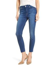 7 For All Mankind - 7 For All Mankind High Waist Ankle Skinny Jeans - Lyst