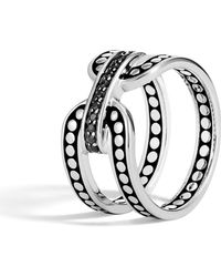 John Hardy - Dot Silver Ring - Lyst