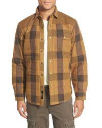 Eddie Bauer - 'woodhacker - Ilaria Urbinati Collection' Trim Fit Heavy Twill Plaid Shirt Jacket - Lyst