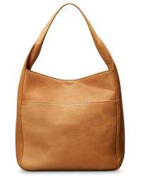 Shinola - Cass Dearborn Leather Hobo - Lyst