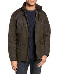 Barbour - 'sapper' Regular Fit Waterproof Waxed Cotton Jacket - Lyst