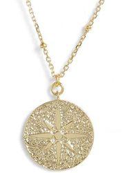 Argento Vivo - North Star Medallion Necklace - Lyst