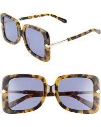 c45425bc5b3 Tropics 58mm Cat Eye Sunglasses - Crazy Tortoise.  250. Nordstrom · Karen  Walker - Eden 53mm Square Sunglasses - - Lyst