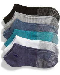Ralph Lauren - 6-pack Ankle Socks, Purple - Lyst