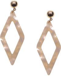Nakamol - Geometric Drop Earrings - Lyst