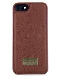 Ted Baker | Haliday Iphone 7 & 7 Plus Case | Lyst