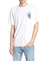 AllSaints - Handy Graphic Crewneck T-shirt - Lyst