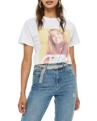 TOPSHOP - Britney Spears Graphic Tee - Lyst