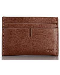 Tumi - Leather Card Case - Lyst