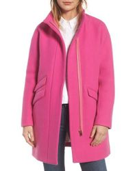 J.Crew | J.crew Stadium Cloth Cocoon Coat | Lyst
