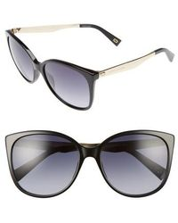 Marc Jacobs - 56mm Gradient Lens Butterfly Sunglasses - Lyst