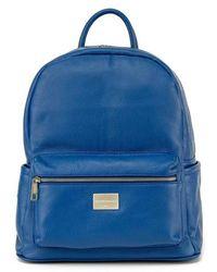 Montezemolo - Leather Backpack - Lyst