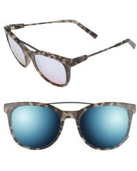 Electric - 'bengal' 54mm Sunglasses - Nude Tortoise/ Rose Sky Blue - Lyst