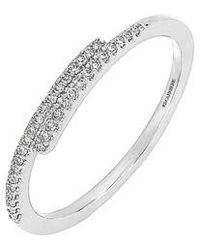 CARRIERE JEWELRY - Carriere Linear Diamond Stacking Ring (nordstrom Exclusive) - Lyst