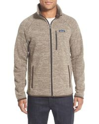 Patagonia | 'better Sweater' Zip Front Jacket | Lyst