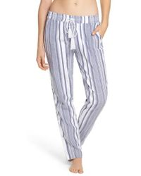 Tommy Bahama - Stripe Beach Cover-up Jogger Pants - Lyst