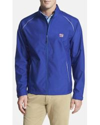 Cutter & Buck - 'new York Giants - Beacon' Weathertec Wind & Water Resistant Jacket - Lyst