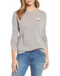 Velvet By Graham & Spencer   Loved Cashmere Blend Sweater   Lyst