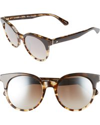 dc4472d196 Lyst - Kate Spade Annora Square Sunglasses in Brown