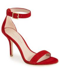 Pelle Moda - 'kacey' Ankle Strap Sandal - Lyst