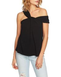 1.STATE - Twist Front One-shoulder Top - Lyst
