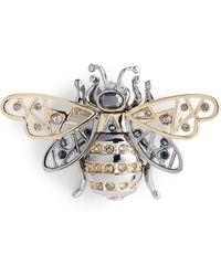 St. John - Swarovski Crystal Bee Pin - Lyst