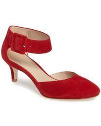 Pelle Moda - Ankle Strap Pump - Lyst