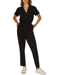 Sanctuary - Sancutary Renewal Tie Waist Jumpsuit - Lyst