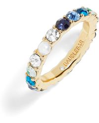 BaubleBar - X Micaela Erlanger 7 Days A Week Eternity Ring - Lyst
