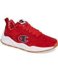 Champion - Life® 93eighteen Red Suede Shoes - Lyst